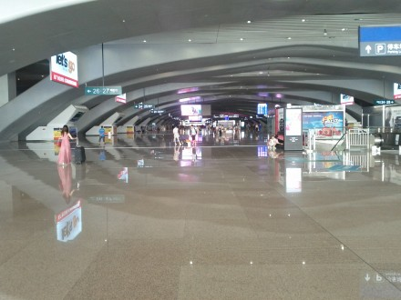 [Guangzhou South Arrivals Hall]