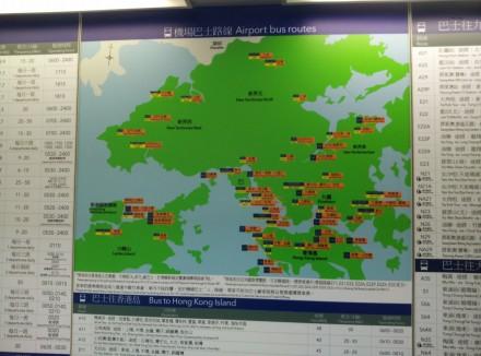 Hong Kong bus routes