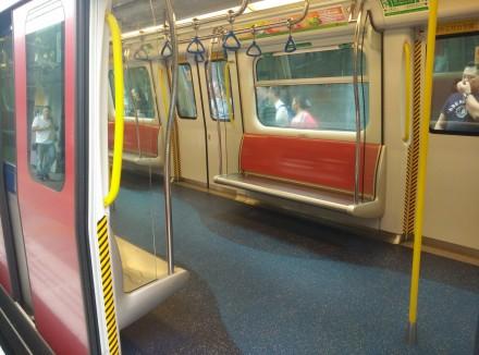 Hong Kong Metro carriage